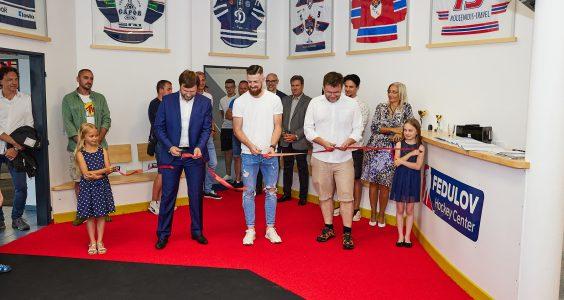 Slavnostní otevření Fedulov Hockey Center v Trutnově